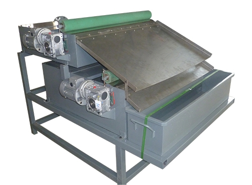 双级胶棍磁性分离器